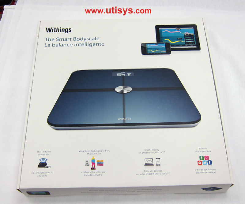 Весы Withings Wifi Body Scale & Тонометр Withings Blood Pressure Monitor